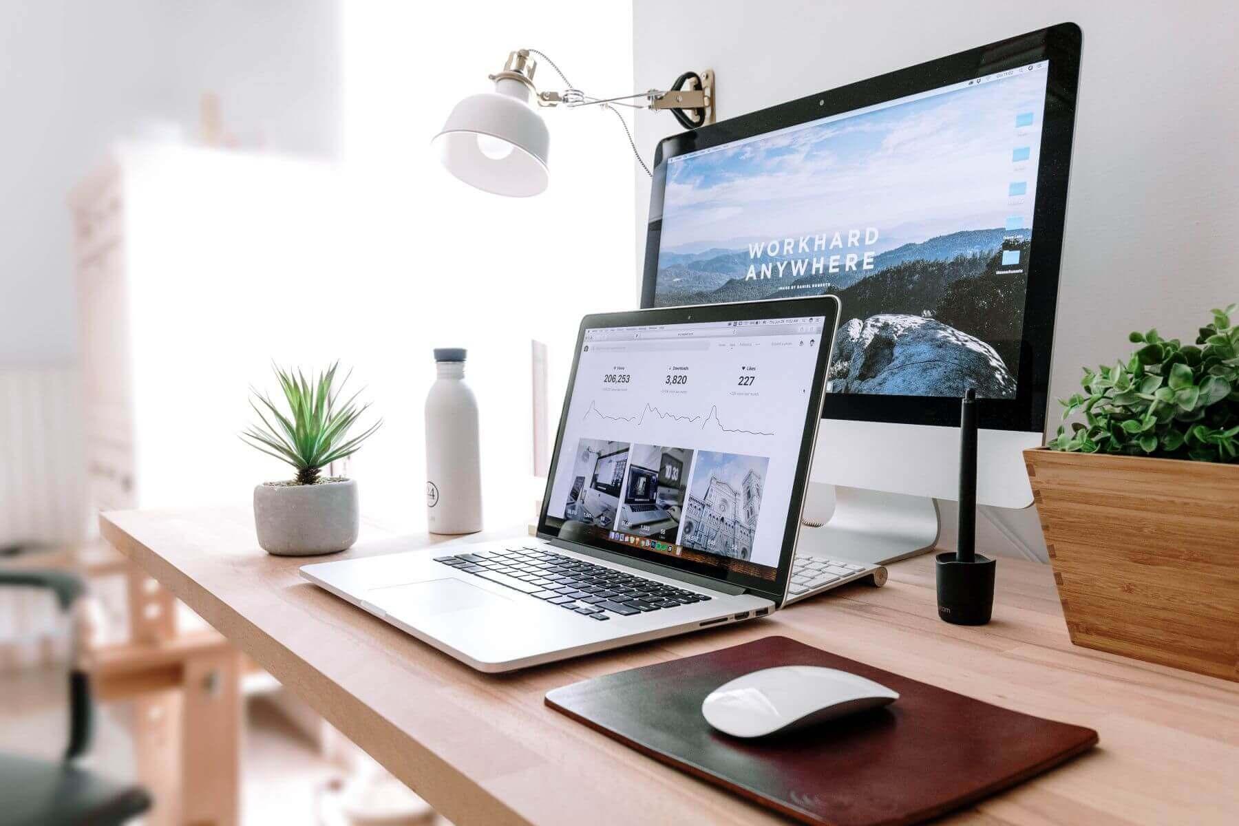 Projekt: Schreibtisch Aufräumen